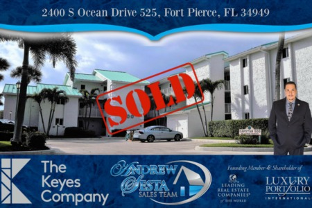 Another Ocean Village Condo Sold And Closed