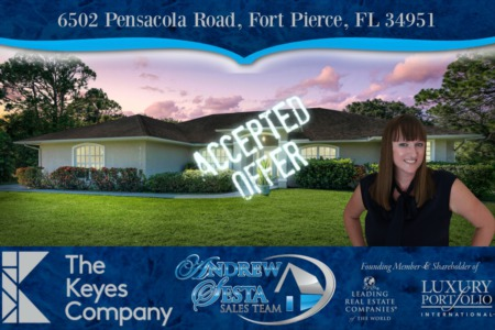 Another Fort Pierce Home Under Contract