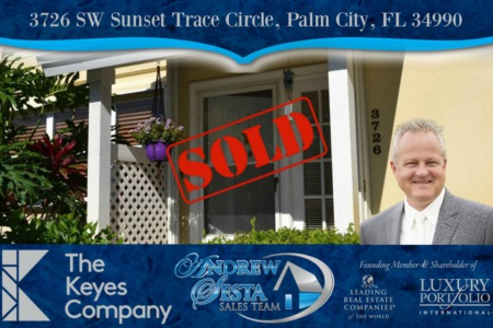 Another Palm City Home Sold and Closed