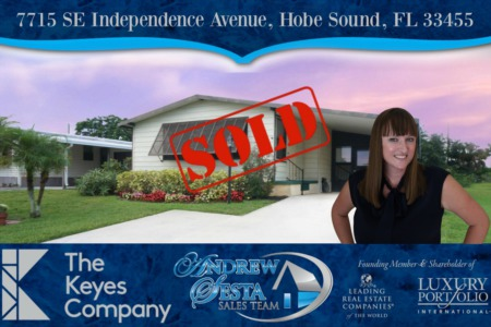 Another Hobe Sound Florida Home Sold