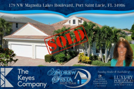Another Saint Lucie West Home Sold and Closed
