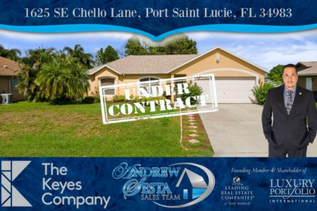 Andrew Sesta Sales Team Sells Another Port St Lucie Home
