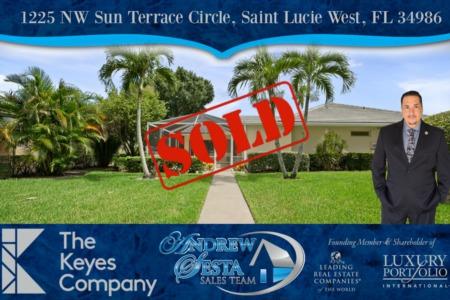 Another Saint Lucie West Villas Sold