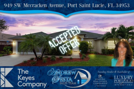 Another Port St Lucie Home Under Contract Through HUD