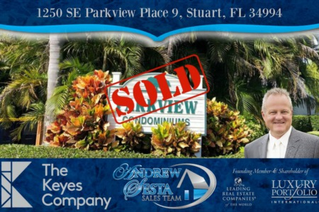 Another Stuart Florida Condo Sold And Closed