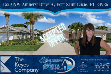 Another St Lucie West Home Under Contract