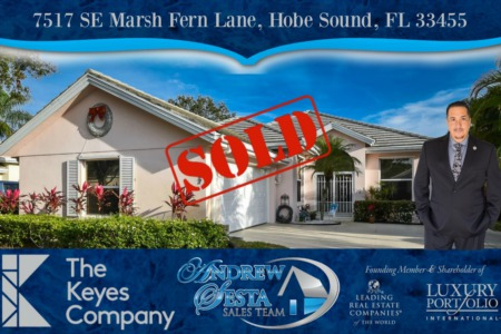 Another Hobe Sound Preserve Home Sold