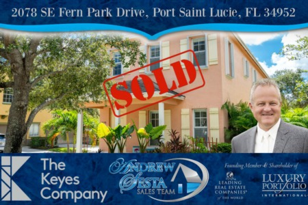 East Lake Village Home Sold and Closed