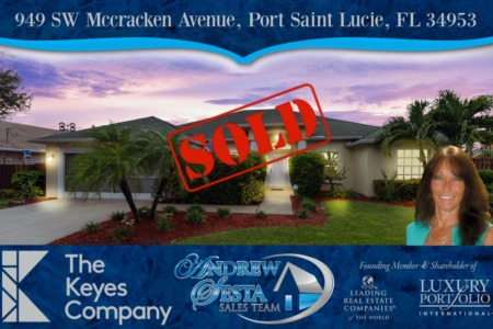 Beautiful Port St Lucie Home Sold & Closed Andrew Sesta Sales Team