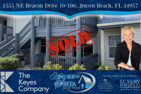 Jensen Beach Beacon 21 Unit Sold and Closed