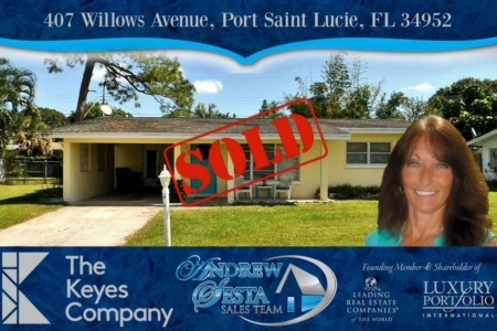 Sold And Closed  Another PSL Home
