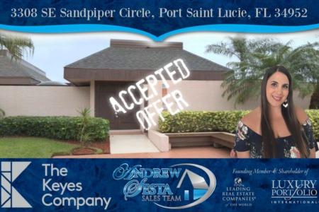 Club Med Sandpiper Port Saint Lucie Villa Under Contract