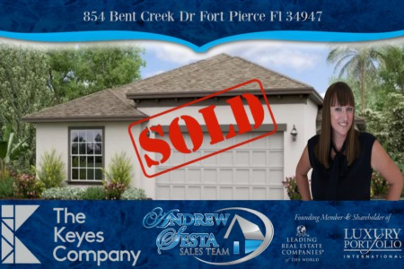 Bent Creek New Construction Home Sold and Closed