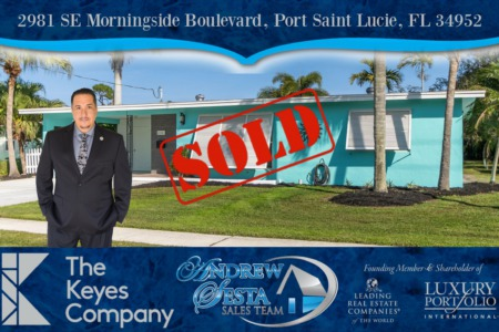 Another Port Saint Lucie Home Sold Above Asking Price