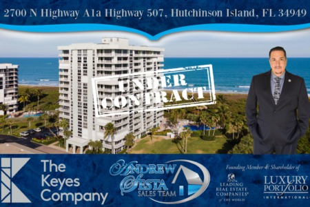 Another Hutchinson Island Condo Under Contract 2700 N Highway A1A
