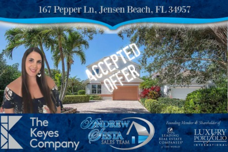 Another Jensen Beach Home Under Contract Pepper Lane