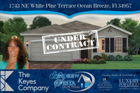 Ocean Breeze New Construction Home Under Contract