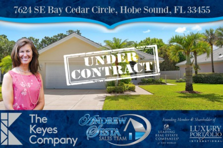 The Preserve Hobe Sound Home Under Contract