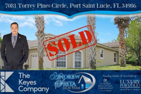 ANOTHER PGA VILLAGE HOME SOLD AND CLOSED-7081 Torrey Pines