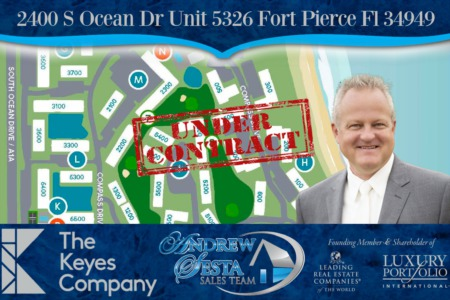 Another Ocean Village Hutchinson Island Condo Under Contract 5326