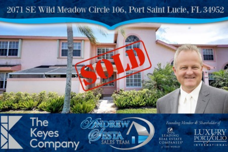 Another PSL Townhouse Under Contract