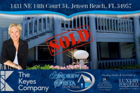 Another Beacon 21 Condo Under Contract Jensen Beach