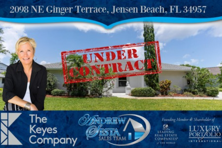 Another Pinecrest Home Under Contract