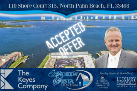 Another North Palm Beach Condo Under Contract