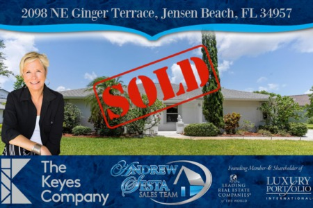 Another Pinecrest Home Sold and Closed-Ginger Terrace