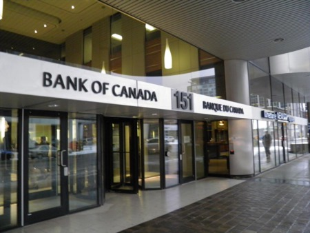 Bank of Canada maintain lending rate at 0.5%, but lowers economic forecasts till 2018.
