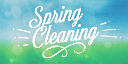 It's that time of the year again, Spring Cleaning is here!