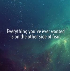 Motivational : Fear can be your friend or enemy, you choose.