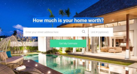 Internet Home Valuation Techniques
