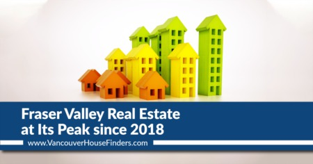 Fraser Valley Real Estate at Its Peak Since 2018