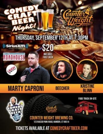 Laugh Full at Half Full September 12 Half Full Brewery