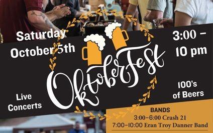 Oktoberfest  October 5 Powder Ridge Mountain Park & Resort