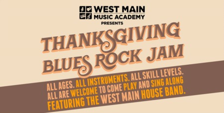 Thanksgiving Blues Rock Jam