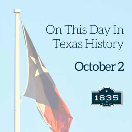 Today in Texas History