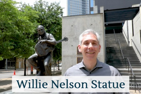 Discover Austin: The Willie Nelson Statue - Episode 5