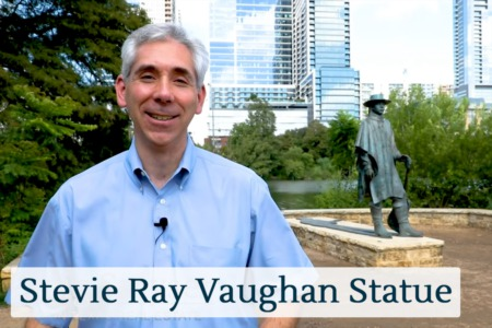 Discover Austin: The Stevie Ray Vaughan Statue - Episode 20