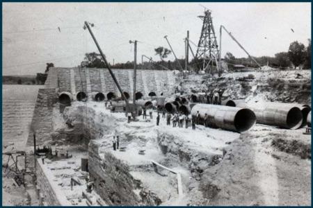 Vintage Austin: New Austin Dam