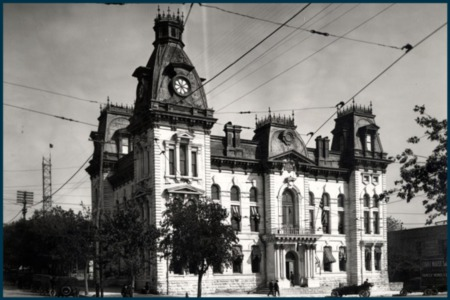 Vintage Austin: Travis County Courthouse
