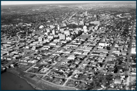 Vintage Austin: Downtown From Above