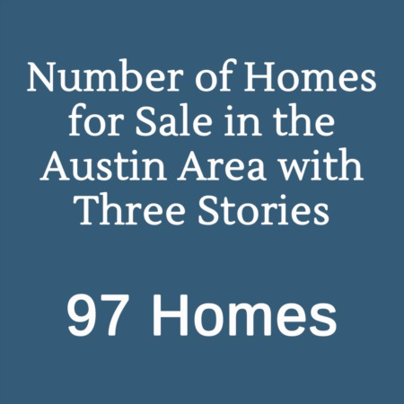 Quirky MLS Stats: Three Story Homes