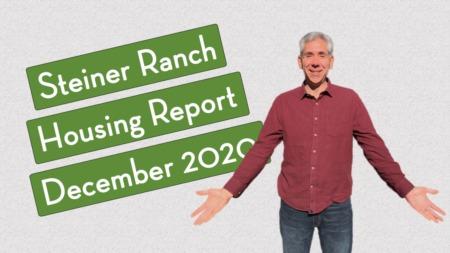 Steiner Ranch Housing Report - December 2020
