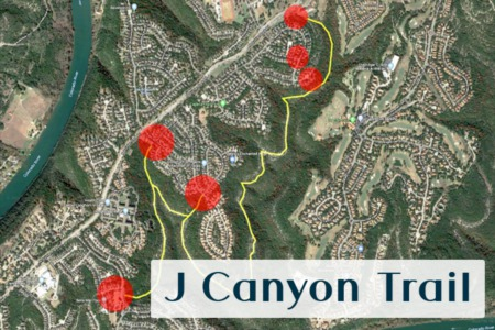 Discover Steiner Ranch: J Canyon Trail