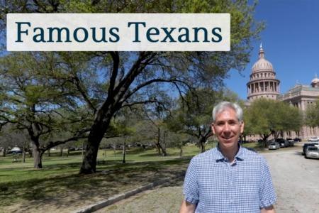 Discover Austin: Famous Texans - Episode 85