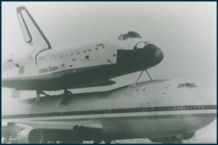Vintage Austin: Space Shuttle Columbia