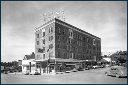 Vintage Austin: Alamo Hotel