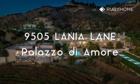 9505 Lania Lane Beverly Hills: Palazzo di Amore